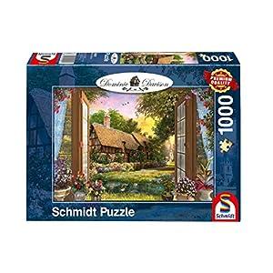 Schmidt Spiele Puzzle 59591Dominic Davison, visión en el Cottage, 1000Piezas
