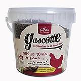 Gasco 91000 Nourriture Insecte Sèches pour Élevage/Agriculture Urbaine 300g