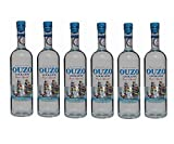 6x feiner Ouzo Loukatos je 700ml 38% Vol. aus Griechenland - griechischer...