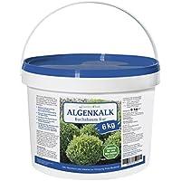 myGardenlust Algenkalk 6kg Buchsbaumretter – Zulässig für den Bio-Anbau – Buchsbaum Kur - Feines Pulver – Gartenkalk als Buchsbaumdünger - Buxus