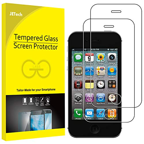 �r iPhone 4s und iPhone 4, Gehärtetes Glas Schutzfolie, 2 Stück ()