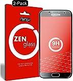 nandu I ZenGlass [2 Stück] Flexible Glas-Folie für Samsung Galaxy S7 Panzerfolie I Display-Schutzfolie 9H I (Kleiner ALS Das Gewölbte Display)