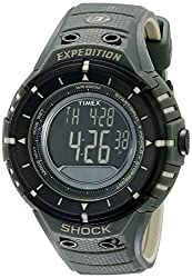 Timex Expedition Shock Digital Compass Watch Olive/Black