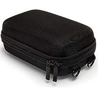 Baxxtar Pure Black Größe L Kameratasche schwarz (Schultergurt und Gürtelschlaufe) für Sony HX60 HX90 HX95 HX99 - Panasonic TZ81 TZ71 - Canon SX730 SX740