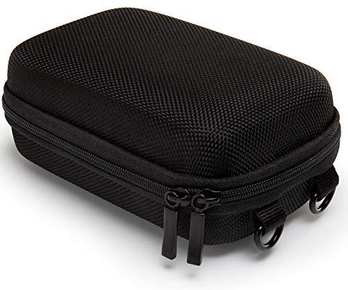 dsc hx 80 Baxxtar Pure Black Größe L Kameratasche schwarz (Schultergurt und Gürtelschlaufe) für Sony HX60 HX90 HX95 HX99 - Panasonic TZ81 TZ71 - Canon SX730 SX740