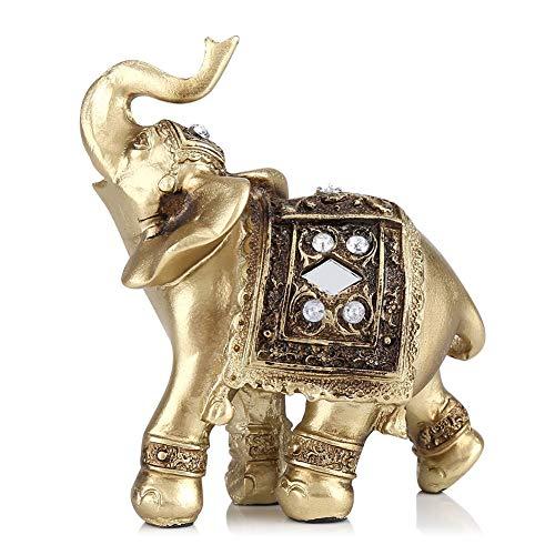 Zerodis Escultura, Elefante Decorativo La Artesania El Feng Shui Oficina Hogar Decoracion Ornamentos Los Regalos Figura Escultura Arte(S)