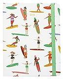 Grupo Erik Editores AGVSVP1705 - Agenda 2018 Semana Vista Premium Surf Girl