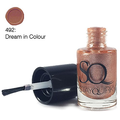Stay Quirky Nail Polish, Brown Dream in Polish 492, 6ml