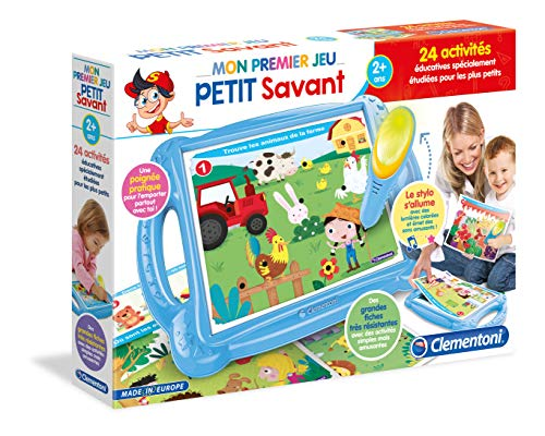 Clementoni-Mon Premier Petit Savant-Jeu educatif, 52300