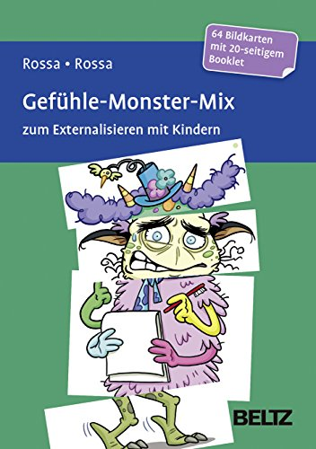 Gefühle-Monster-Mix zum Externalisieren mit Kindern: 64 Bildkarten mit 20-seitigem Booklet in stabiler Box, Kartenformat  1x98x143 und 3x49x143 mm. ... Mit Online-Material (Beltz Therapiekarten)