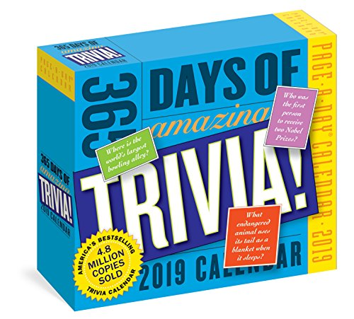 eBooks For Iphone 365 Days of Amazing Trivia! Page-A-Day Calendar 2019 CHM