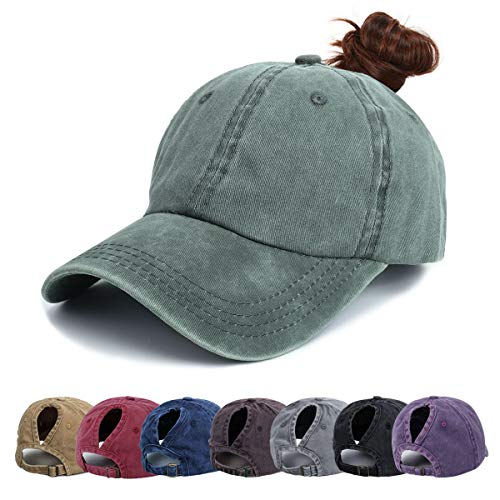 Ponytail Baseball Hats Cap - Uni...