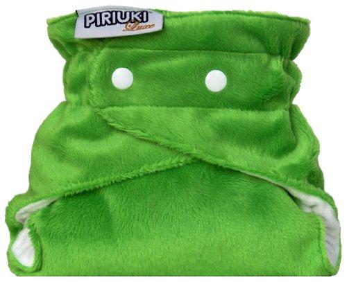 Piriuki, Pannolino di stoffa, riutilizzabile, Taglia unica, Verde (Apple Green (grün))