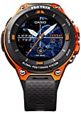 Casio WSD-F20RG Bluetooth Black, Orange sport watch - Sport Watches (Black, Orange, Water resistant, 50 m, Climbing, Cycling, Fishing, Running, 12h/24h, 4000 MB)