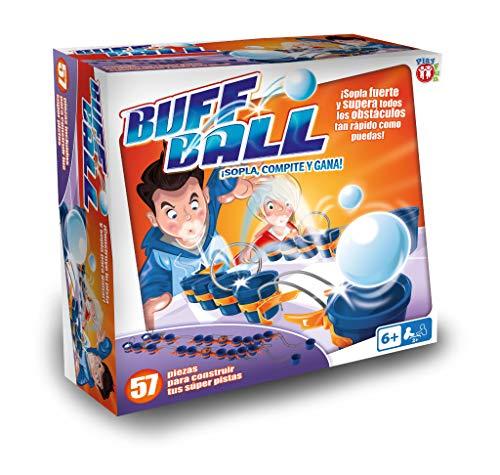 Play Fun-Juego Puff Ball CREA Tus PROPIAS Pistas, Multicolor (IMC Toys 1)