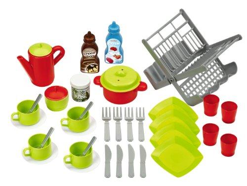 Smoby Set Cucina thè caffè con Accessori 39 pz Multicolore 7600002619