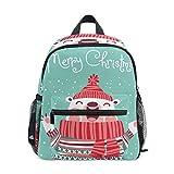 COOSUN Weihnachten Netter Eisbär Mini Kinderrucksack Pre-School Kindergarten Kleinkind-Tasche Mehrfarbig