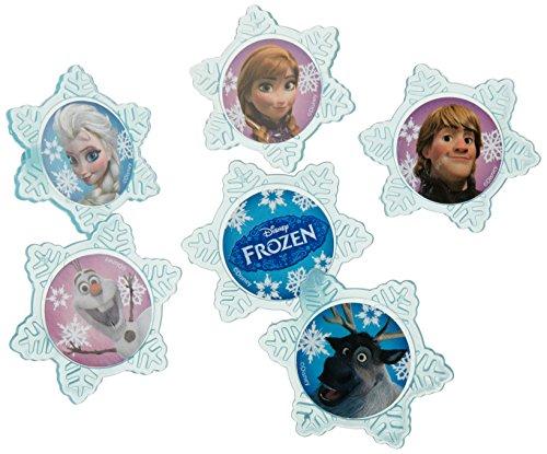 Disney Frozen (Eiskönigin) 12 Muffinringe, Cupcake Rings - Dekoration für Muffins - aus USA