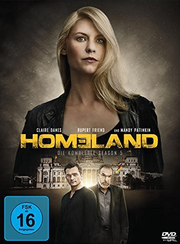 Homeland – Die komplette Season 5 [4 DVDs]