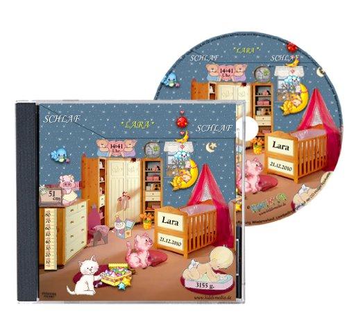 Personalisierte Schlaflied-CD, gesungen mit ihrem Kindernamen