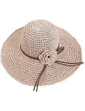 Verano Sombrero Para El Sol Gran Sombrero De Ala Ancha Sol Casquillo De La Playa De Arena Casquillo Del Recorrido...