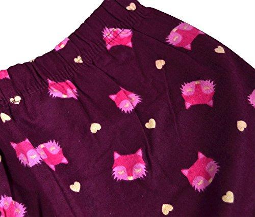Generic - Ensemble de pyjama - Manches Longues - Femme renard roux