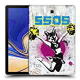 Head Case Designs Offizielle 5 Seconds of Summer Kindahot Graffiti Ruckseite Hülle für Samsung Galaxy Tab S4 10.5 (2018)