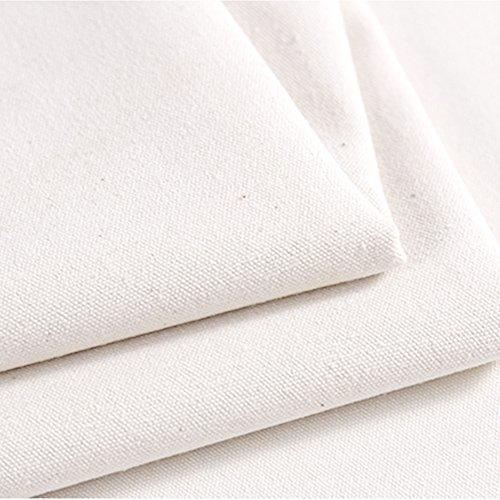 Hense Canvas Baumwolle Ente Stoff Plane–Frei blanko können DIY Nähte Naht am Rand, utilizef für Zuhause, Büro, Kunst Gemälde (hsw-88) (Stoff-ente Canvas)
