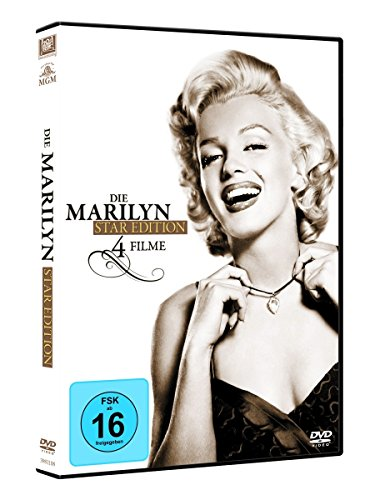 Die Marilyn Monroe Star Edition (4 DVDs)