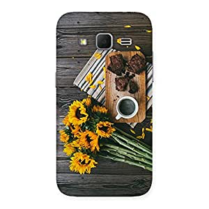Neo World Date over Coffee Back Case Cover for Galaxy Core Prime