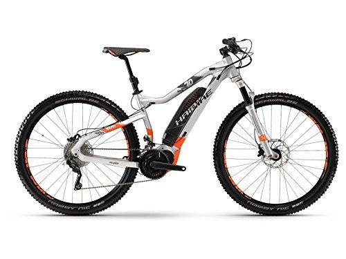 Haibike SDURO HardNine 8.0 E-Bike 500Wh E-Mountainbike silber/orange/oliv matt