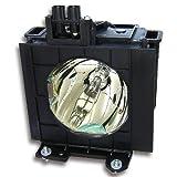 Lampada per proiettore Alda PQ ET-LAD55 per il proiettore Panasonic PT-D5500 PT-D5500U PT-D5500UL PT-D5600 PT-D5600U PT-D5600UL PT-DW5000 PT-DW5000L PT-DW5000U PT-DW5000UL TH-D5500 TH-D5500L TH-D5600 TH-D5600L TH-DW5000 TH-DW5000L, lampada con custodia