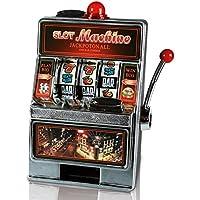 Preisvergleich für 2 x HC-Handel 912080 Spardose Spielautomat Spiel Automat mit Klingel & Licht