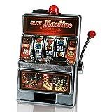 2 x HC-Handel 912080 Spardose Spielautomat Spiel Automat mit Klingel & Licht