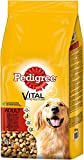 Pedigree Dog Complete Dry with Beef and Vegetables, 18 kg