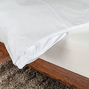 Homescapes Waterproof Duvet Cover Protector - Fully Fitted - SUPER KING Size - Hypoallergenic and Dust Mite Proof