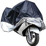 295x110x140cm Motorradgarage Abdeckplane für Motorrad - Zubehör Schutzhülle...