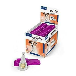 Effitix Spot On petit chien 4 - 10 kg 24 pipettes