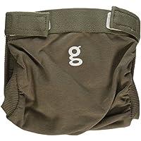 Gnappies gpants de algodón suave, marrón marmota - pequeño