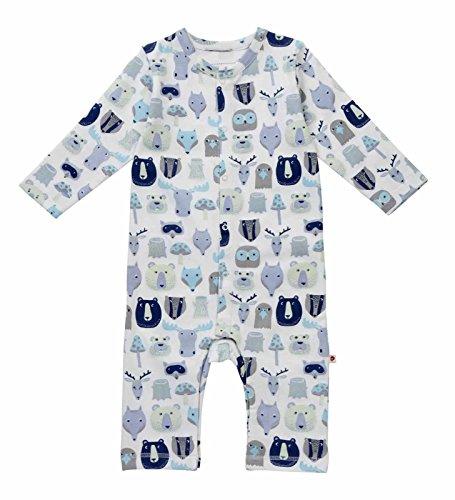 Piccalilly - Pantalon de Salopette - bébé garçon Bleu Bleu