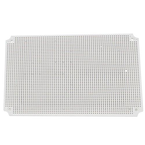 Preisvergleich Produktbild Grau Kunststoff Netz Gehäuse Montageplatte für 380x280mm Junction Box