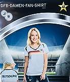 DFB Damen-Fan-Shirt 4 Sterne Deutschland Weltmeisterschaft 2018 WM Russia T-Shirt Party Trikot