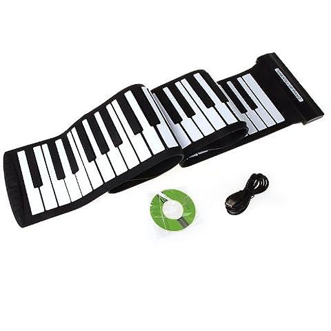 Andoer USB 88 touches MIDI Enroulez Piano