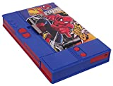 #7: Disney & Marvel HMI Original Gadget Jumbo Pencil Box in Princess, Cinderella, Spider Man & Avengers Characters, Pencil Box for Kids