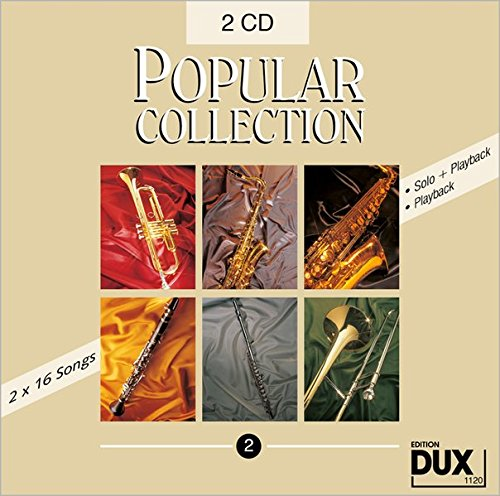 Popular Collection 2 DoppelCD, Halb- und Vollplayback