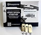 Radbürsten Starterkit f. Husqvarna Automower 310 315 (Original) + Gratis Titan Messer