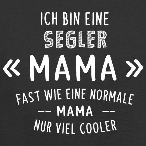 Ich bin eine Segler Mama - Herren T-Shirt - 13 Farben Schwarz