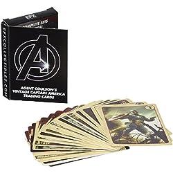E.F.X. Collectables EFX05120004 - Juego de cartas de capricho de Agent Coulson
