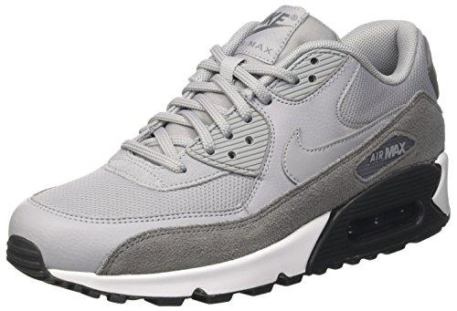 Nike Damen Air Max 90 Sneaker, Grau (Cool Grey/Wolf Grey-Anthracite-White), 40.5 EU