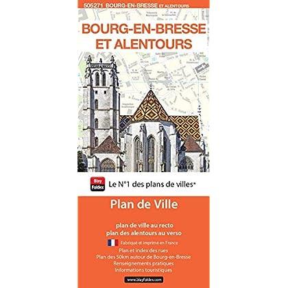 Bourg-en-Bresse et alentours : 1/10 000 ; 1/125 000